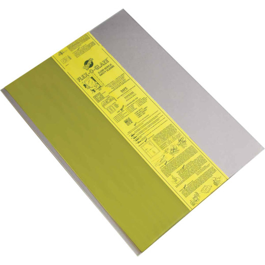 "Flex-O-Glaze 30"" x 34"" x .080 Safety Glazing Acrylic Sheet"