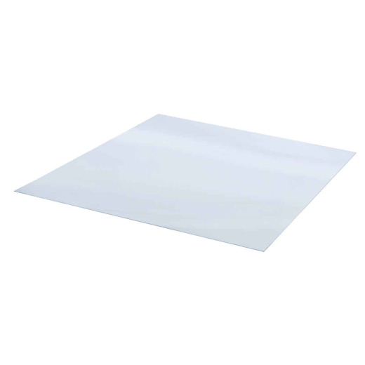 Tuftex 48 In. x 48 In. x 3mm (1/8 In.) Clear Acrylic Sheet