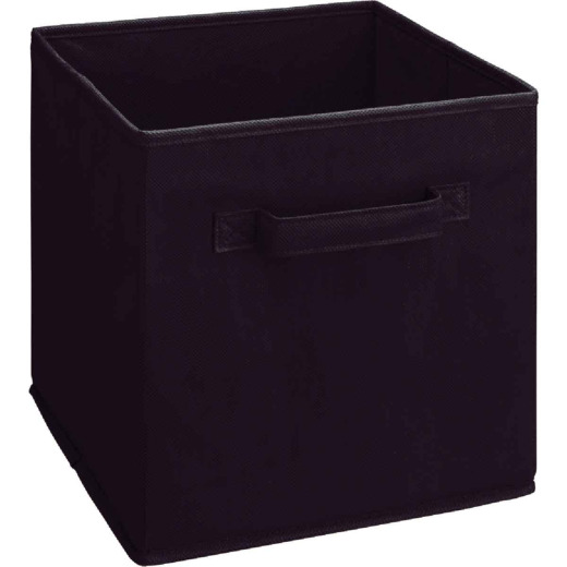 ClosetMaid Cubeicals 10.5 In. W. x 11 In. H. Black Fabric Drawer