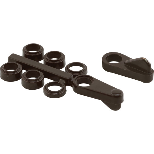 Prime-Line Bronze Steel Universal Screen Clip (4 Count)