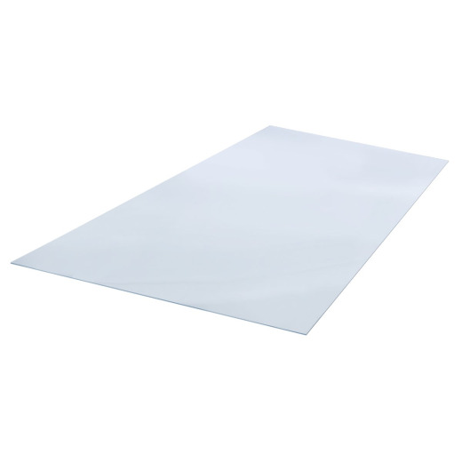 "Plaskolite OPTIX 48"" x 96"" x 0.177 (3/16"") Clear Acrylic Sheet"