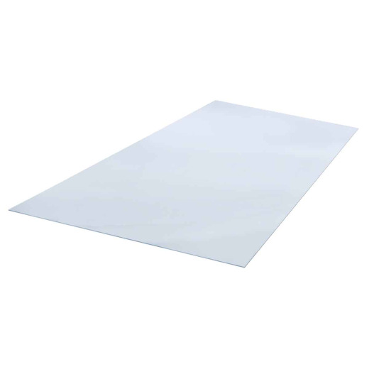 "Plaskolite OPTIX 18"" x 24"" x 0.080 (5/64"") Clear Acrylic Sheet"