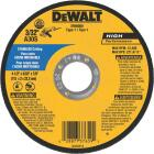 DeWalt HP Type 1 4-1/2 In. x 1/8 In. x 7/8 In. Stainless Cut-Off Wheel Image 1