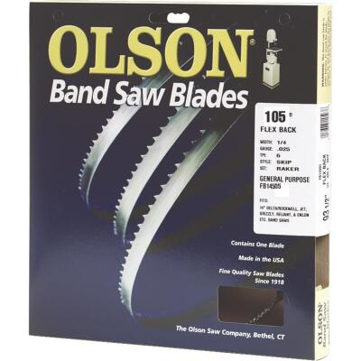 Olson 105 In. x 1/2 In. 3 TPI Hook Flex Back Band Saw Blade