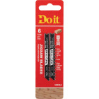 Do it Best U-Shank 3 In. x 6 TPI High Carbon Steel Jig Saw Blade, Wood up to 1 In. (2-Pack) Image 1