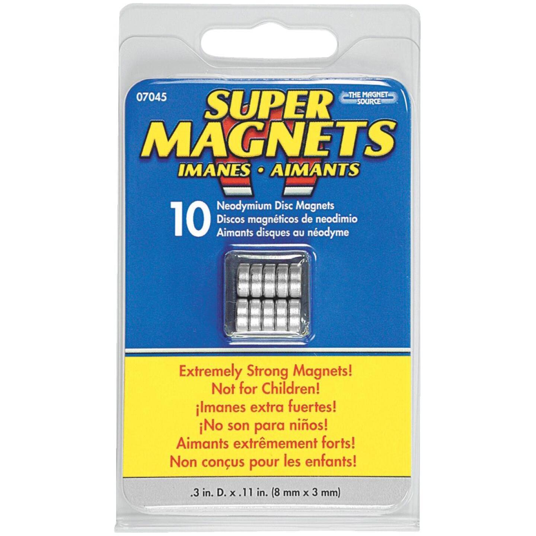 Master Magnetics .315 in. Neodymium Magnet Image 2