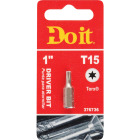 Do it T-15 TORX 1 In. Insert Screwdriver Bit Image 1