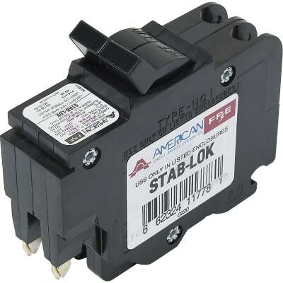 Connecticut Electric 30A Double-Pole Standard Trip Packaged Replacement Circuit Breaker For Federal Pacific
