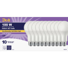 Do it 100W Equivalent Soft White A21 Medium LED Light Bulb, Title 20 (10-Pack) Image 1