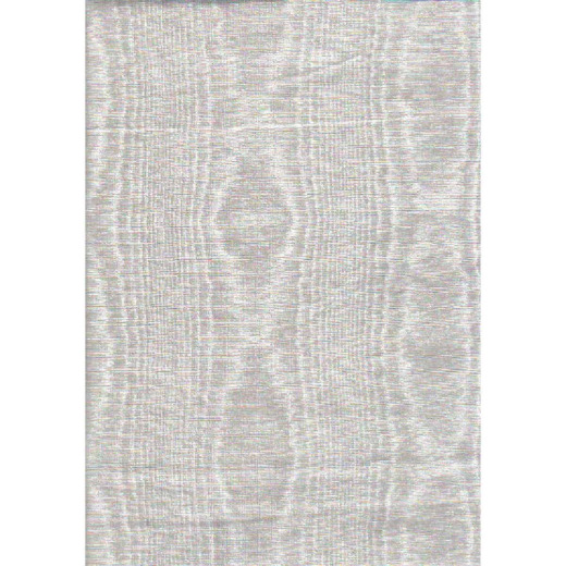 Nordic Shield 54 In. W. x 15 Yd. L. White Flannel Backed Vinyl Tablecloth