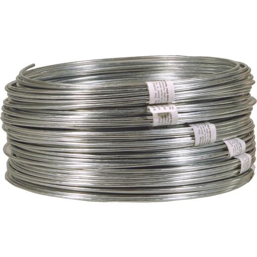 HILLMAN ANCHOR WIRE 50 Ft. 12 Ga. Non-Snarling Clothesline
