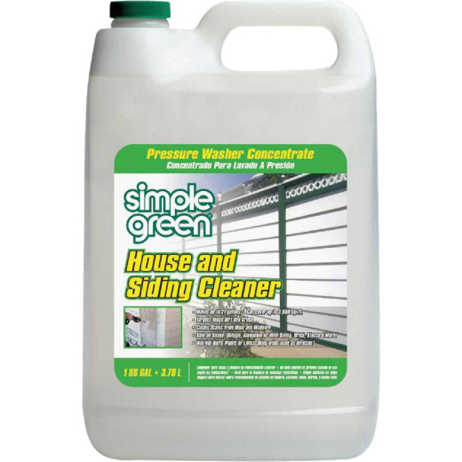 Simple Green 1 Gal. House & Siding Pressure Washer Concentrate Cleaner