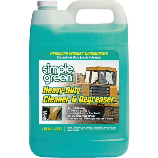 Simple Green 1 Gal. Heavy-Duty Pressure Washer Concentrate Cleaner & Degreaser