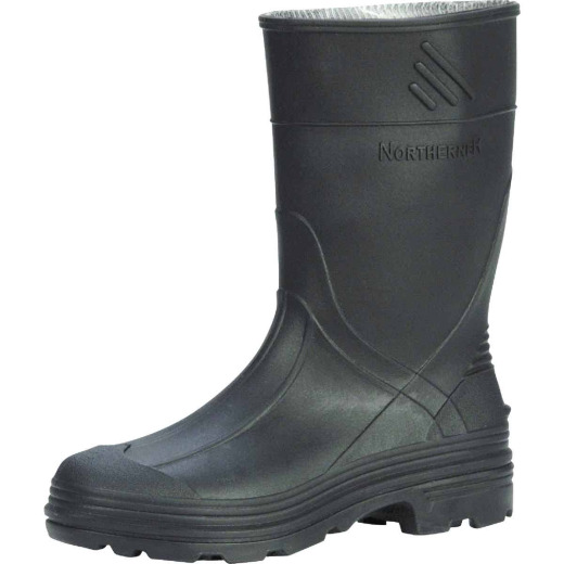 Honeywell Servus Youth Size 2 Black PVC Rubber Boot