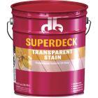 Duckback SUPERDECK VOC Transparent Exterior Stain, Heart Redwood, 5 Gal. Image 1