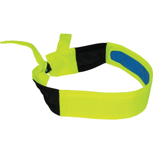 Ergodyne Chill-Its Headband Lime Cooling Bandana